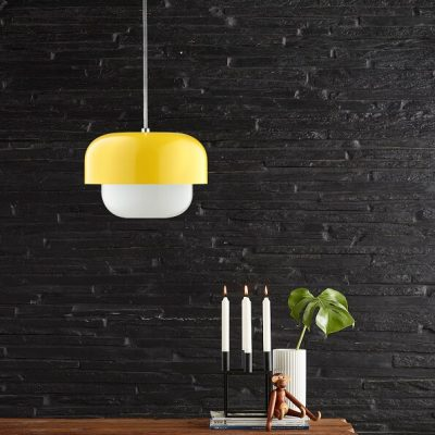 DYBERG LARSEN - HAIPOT Hanglamp Geel - Yuzu Yellow (8037)