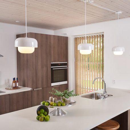 DYBERG LARSEN - HAIPOT Hanglamp Wit - Yin White (8040)