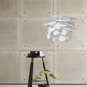 DYBERG LARSEN - ILLUMIN Cumulus Wit hanglamp (DIY) - 45cm (6018)