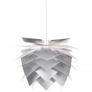 DYBERG LARSEN - ILLUMIN Hanglampen ø35 Alu Look_witte kabel (6037)