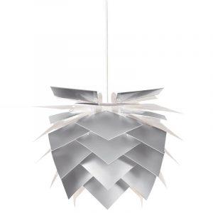 DYBERG LARSEN - ILLMIN Hanglampen 45cm Alu Look_witte kabel (6035)