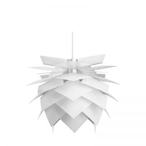DYBERG LARSEN - PineApple Medium hanglamp WIT 45cm (6004)