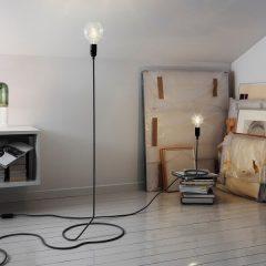 Design House Stockholm - CORD vloerlamp en tafellamp Mini CORD lamp