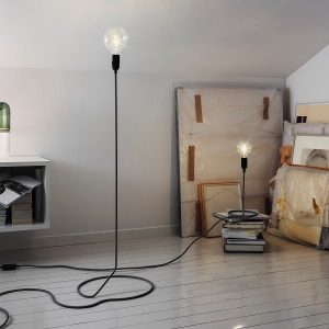 Design House Stockholm - CORD vloerlamp en tafellamp Mini CORD lamp