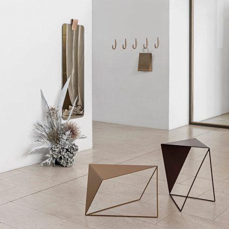 MUNK Collective - INVERSE TABLE - metalen bijzettafel, salontafel