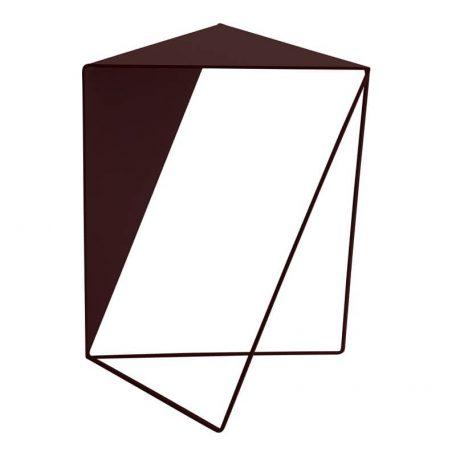 MUNK Collective - INVERSE TABLE - metalen bijzettafel, salontafel - BRUIN
