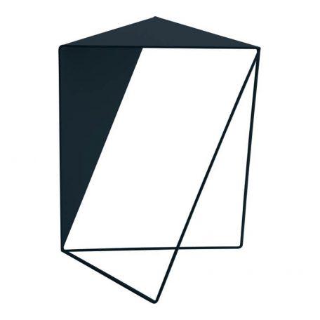 MUNK Collective - INVERSE TABLE - metalen bijzettafel, salontafel - DONKERBLAUW