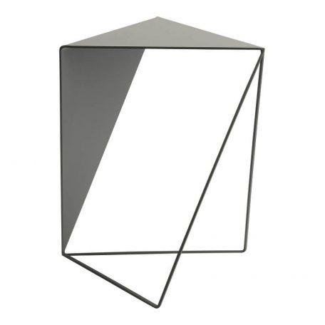 MUNK Collective - INVERSE TABLE - metalen bijzettafel, salontafel - LICHTGRIJS