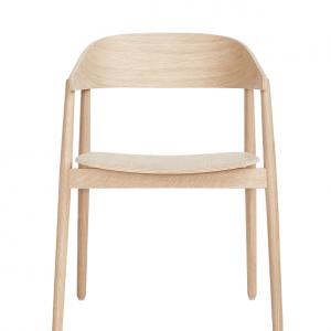 ANDERSEN Furniture - AC2 stoel - houten zitting -eiken_gezeept