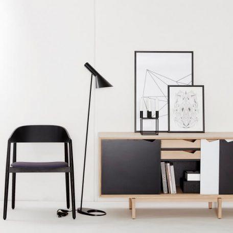 ANDERSEN Furniture - AC2 stoel zwart eiken