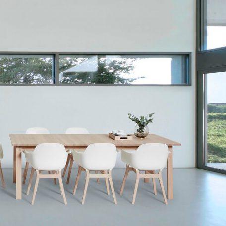 ANDERSEN Furniture - AC3 stoel - Wit_Eiken