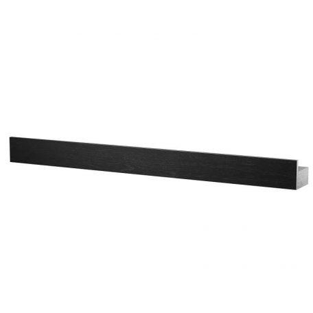 By WIRTH MAGNET SHELF 60 - magnetisch messenrek van zwart eiken (60cm)