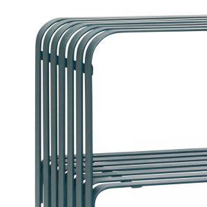 Hubsch Interior - Console tafel van mat groen metaal (940801)