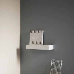 Hubsch Interior - Wit metalen wandplankje (210502)