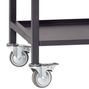 Hubsch Interior - Zwart metalen trolley (020401)