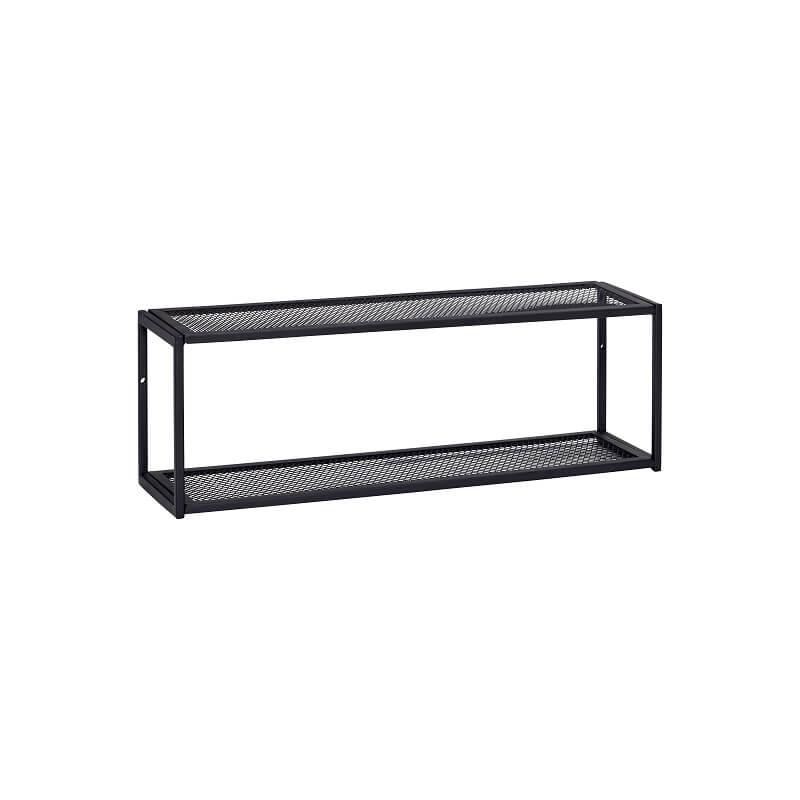 Wandplank Zwart Metaal Hout.Coolliving Nl Hubsch Interior Zwart Metalen Wandplank Wandrek