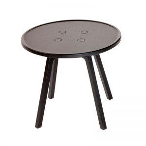 ANDERSEN Furniture - C2 massief eiken bijzettafels 50x50 - Zwart gebeitst