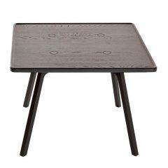 ANDERSEN Furniture - C2 massief eiken bijzettafels 65x65 - Zwart gebeitst