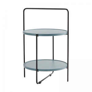 ANDERSEN Furniture - TRAY TABLE Bijzettafel zwart-blauw (1)