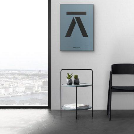 ANDERSEN Furniture - TRAY TABLE Bijzettafel zwart-blauw (1)