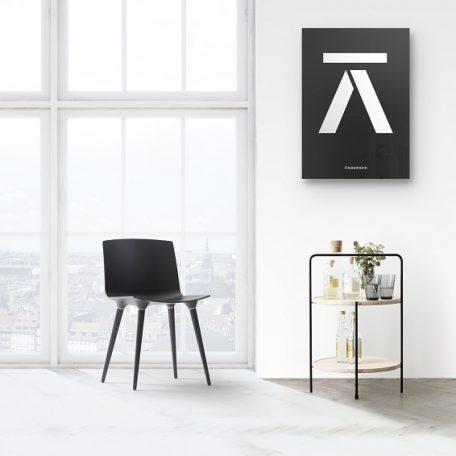 ANDERSEN Furniture - TRAY TABLE Bijzettafel zwart-essen (2)