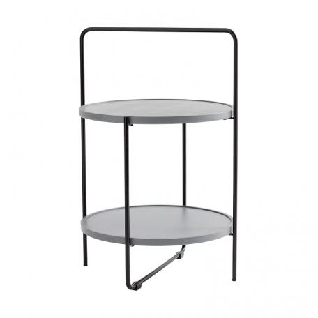 ANDERSEN Furniture - TRAY TABLE Bijzettafel zwart-grijs (1)