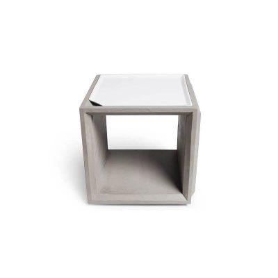 Lyon Béton PLUS PLATEAU - Dienblad van wit porselein (A-09146)