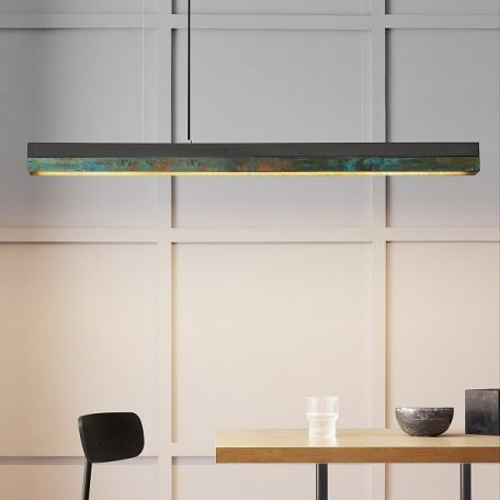GANTlights C1 hanglamp donkergrijs beton - Plafond rozet