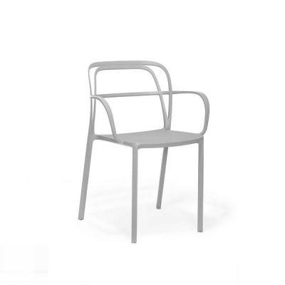 PEDRALI - INTRIGO 3715 - Terrasstoel Horecastoel - Mos Grijs (MG)
