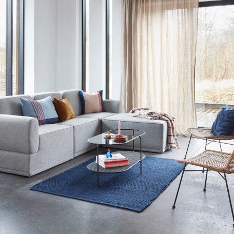 Hubsch Interior - Lichtgrijze 3-zits loungebank - 100901