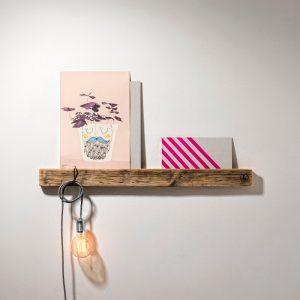 WELD & CO - Fotoplank van gerecycled hout - sloophout - Medium