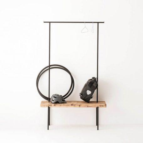 WELD & CO - Kapstok van gerecycled hout en metaal - Medium
