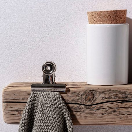 WELD & CO - Wandplank Fotoplank van gerecycled hout - Detail