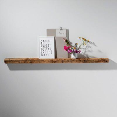 WELD & CO - Wandplank Fotoplank van gerecycled hout - Large
