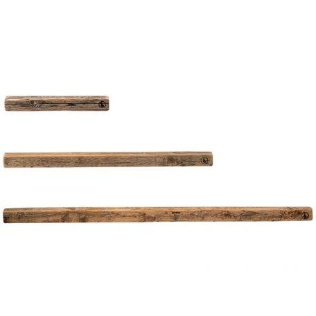 WELD & CO - Wandplank Fotoplank van gerecycled hout - Small Medium Large