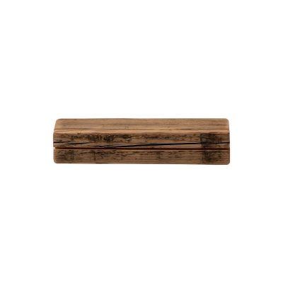WELD & CO - Wandplank met sleutelhouder van gerecycled hout