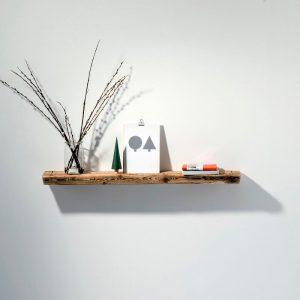 WELD & CO - Wandplank van gerecycled hout - Medium