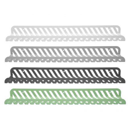 WELD & CO - GRID 02 Wall Shelf - Wandplank van metaal - Kleuren