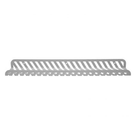 WELD & CO - GRID 02 Wall Shelf - Wandplank van metaal - Lichtgrijs