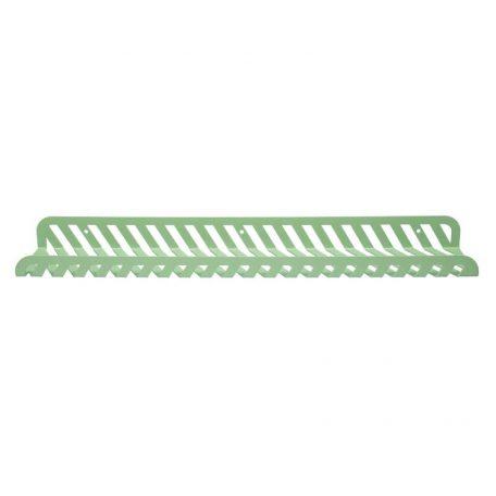 WELD & CO - GRID 02 Wall Shelf - Wandplank van metaal - Pastelgroen