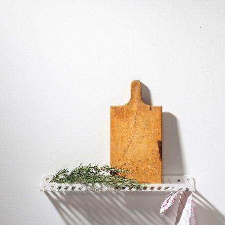 WELD & CO - GRID 02 Wall Shelf - Wandplank van metaal - Wit