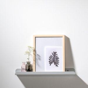 WELD & CO - SOLID 02 Wall Shelf - Wandplank van metaal - Lichtgrijs