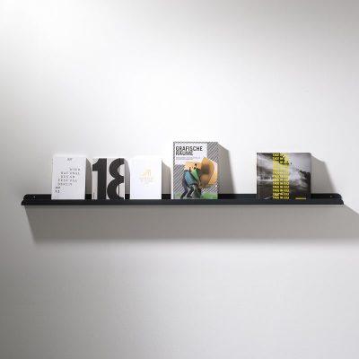 WELD & CO - SOLID 04 Wall Shelf - Wandplank van metaal - Antraciet