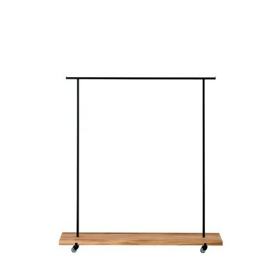 WELD & CO - Oak 01 Clothes Rack - Kledingrek van metaal en geolied eiken - LARGE