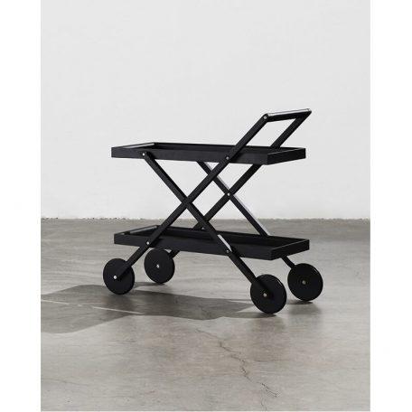 Design House Stockholm EXIT Trolley - Zwart essen hout