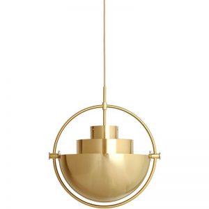 GUBI Multi-Lite Hanglamp Messing-Messing