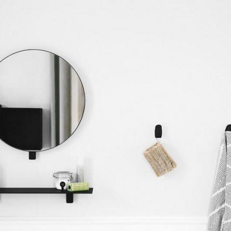 Gejst KOLLAGE SHELF - Mat zwarte wandplank