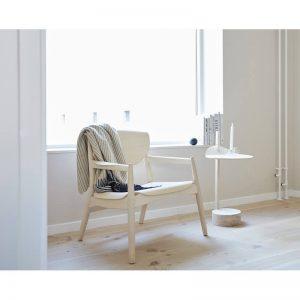 houten loungestoel