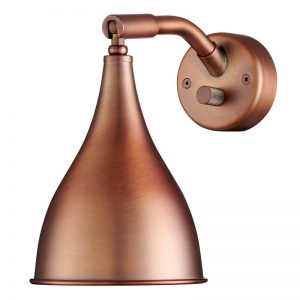 NORR11 - LE SIX Industriële wandlamp - Brons