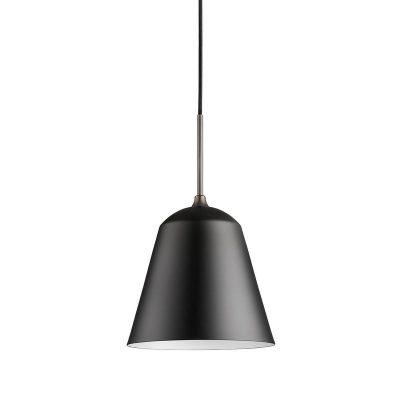 mat zwarte hanglamp